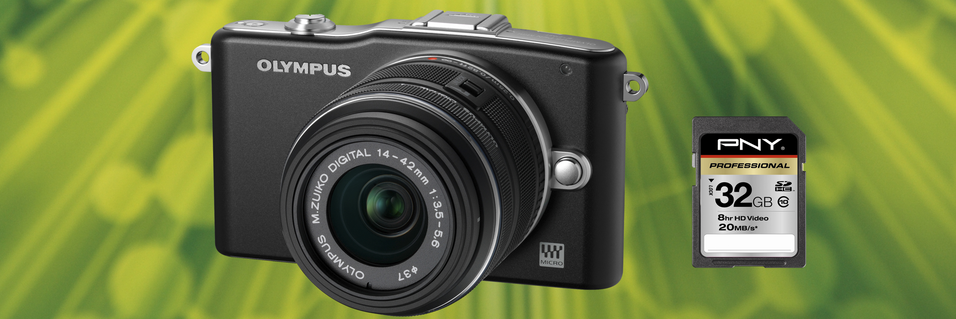 KONKURRANSE: Vinn lekkert systemkamera fra Olympus