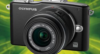 Vant du systemkamera fra Olympus?