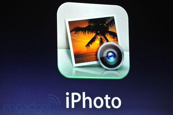 iPhoto til iPad er lansert. (Foto: Engadget)