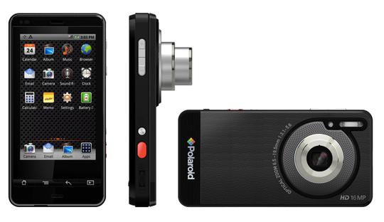 Her er Polaroids SC1630 Android-kamera. Vil Samsung hive seg med og lage et eget Android-kamera?
