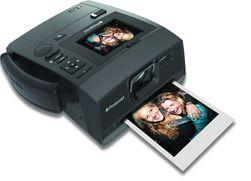Polaroid Z340 er en hybrid mellom et analogt og et digitalt kamera.