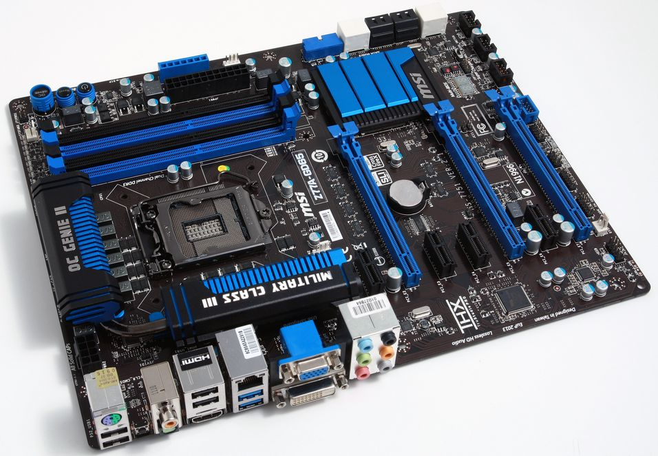 TEST: MSI Z77A-GD65