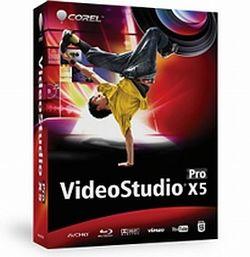 Corel VideoStudio X5 Pro er den enkleste av de to versjonene.