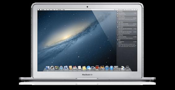 Nå blir varslingssenteret en del av OS X også.