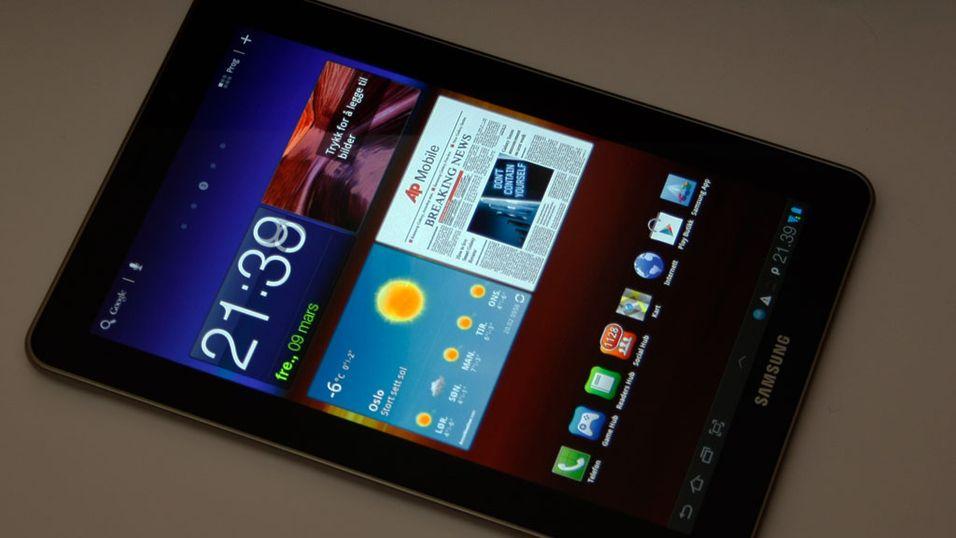 TEST: Samsung Galaxy Tab 7.7