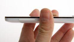 Meizu MX er ca. 1 cm tykk.