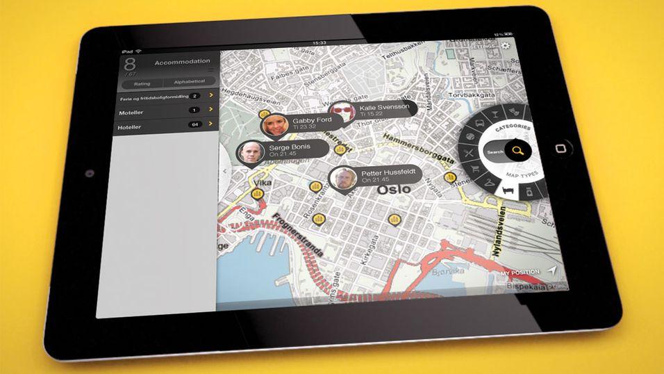 Gule Sider lanserer iPad-app