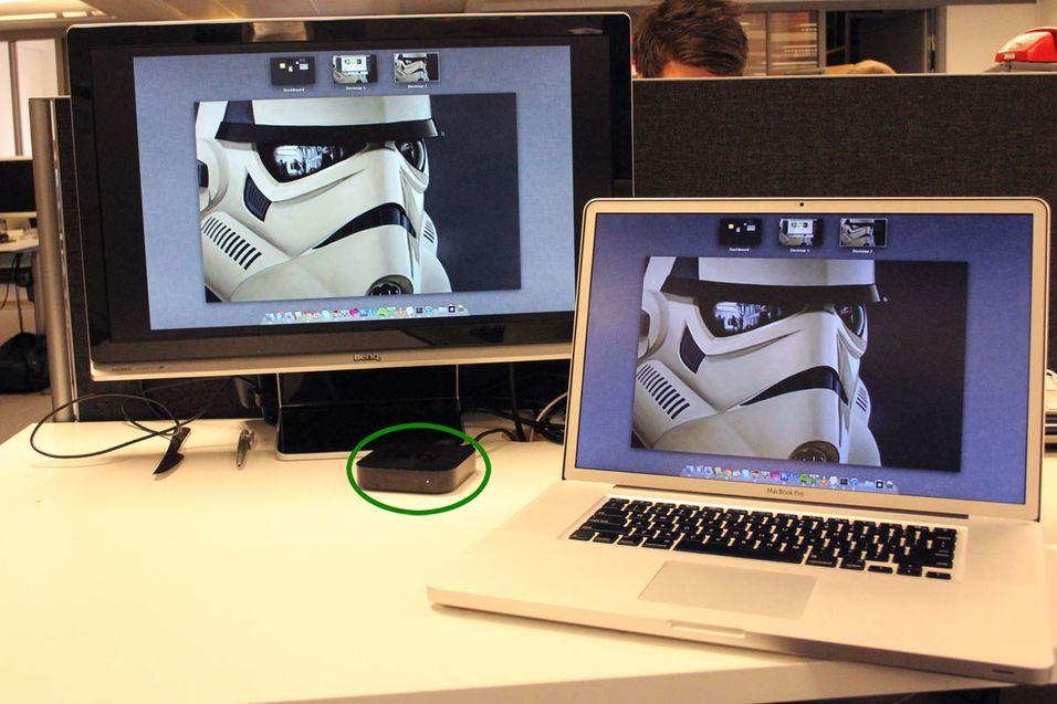 SNIKTITT: Endelig får Mac-en også AirPlay
