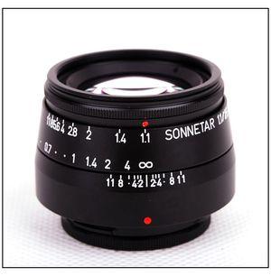 Den nye Sonnetar 25 mm f/1.1. Få andre objektiver kan skilte med å være så kompakte og lyssterke samtidig.