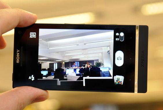 Kameraet i Xperia S tar gode bilder – også innendørs.