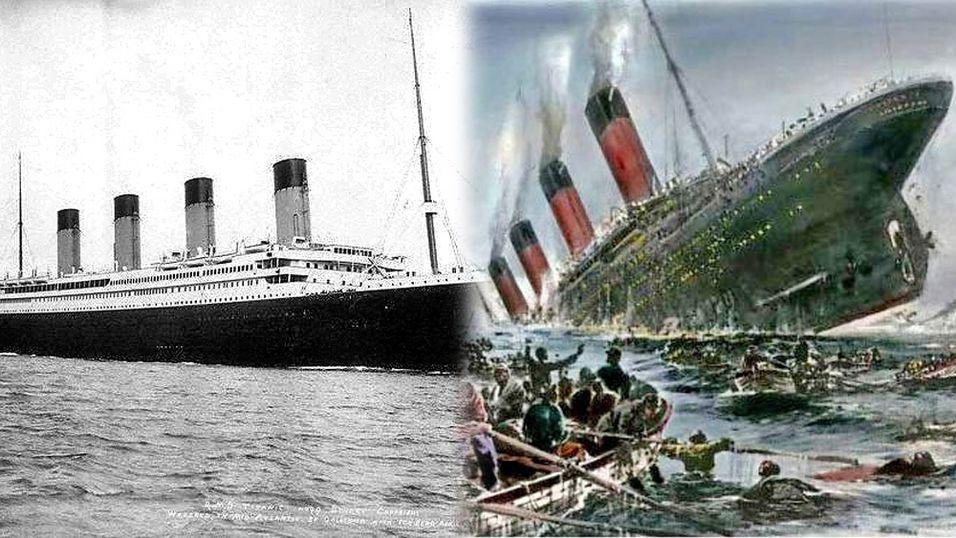 Titanic synker igjen – på Twitter