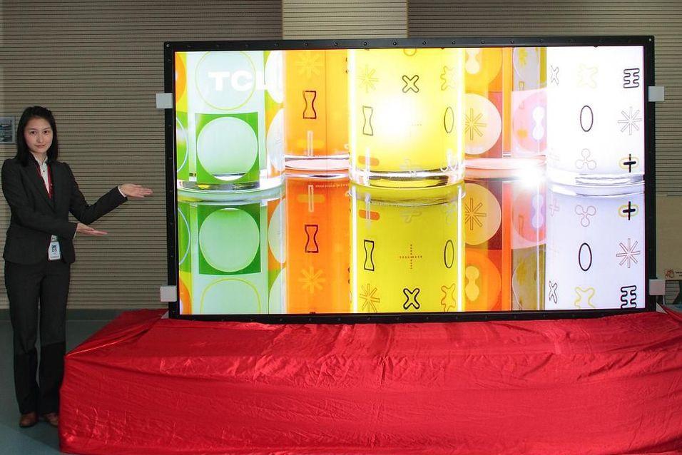 Kinesiske TCL viser 4K-TV
