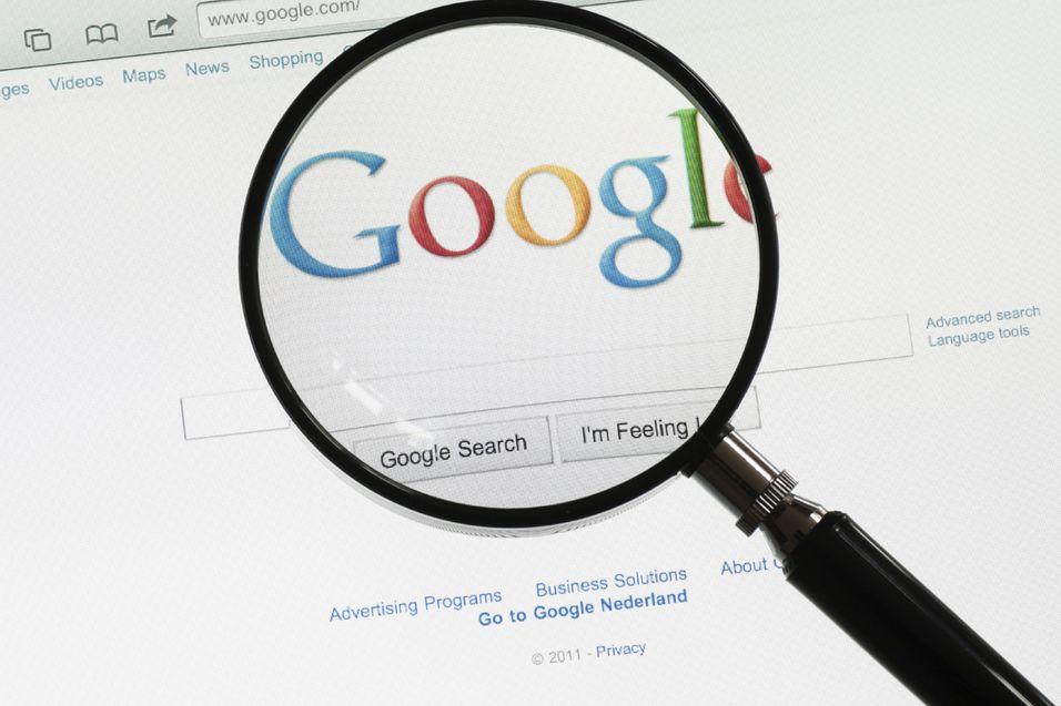 Google skal bygge om søkemotoren