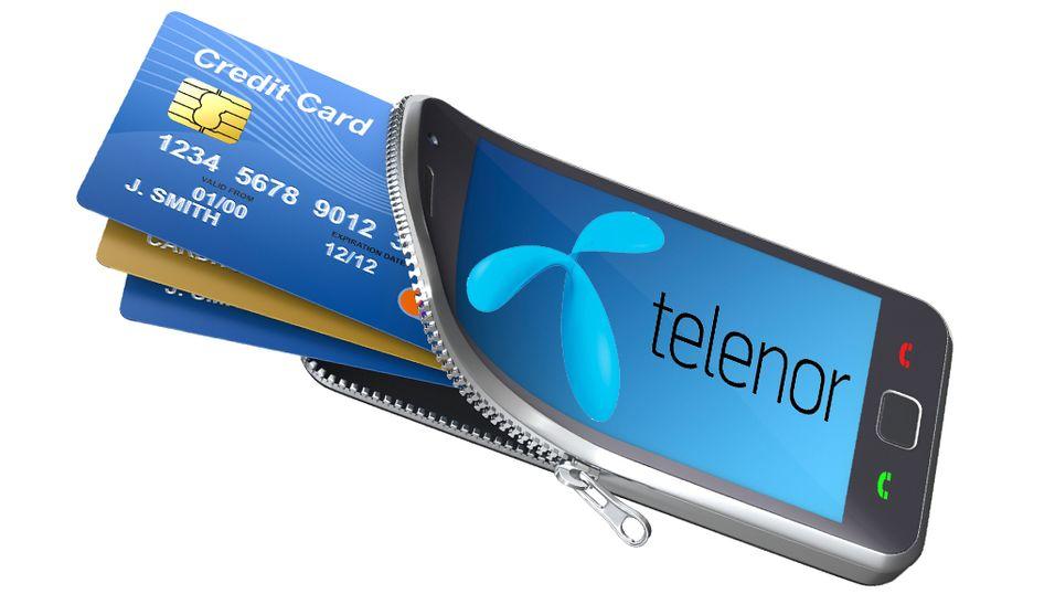 Telenor lager avansert mobil-lommebok