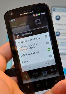 Dette valget får du stadig sjeldnere på en Android-telefon.
