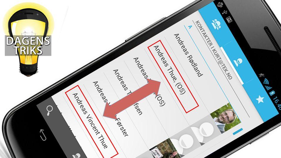 TIPS: Bli kvitt dobbeltoppføringer i kontaktregisteret