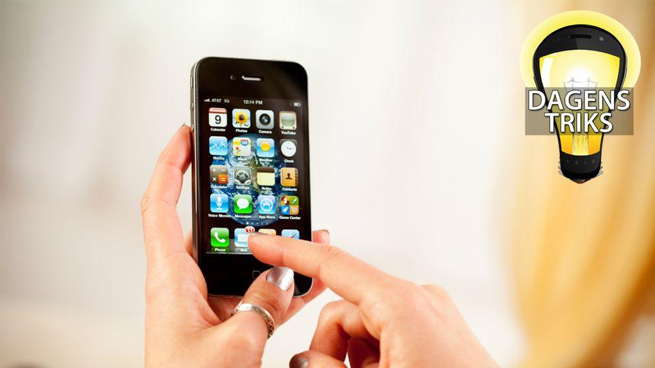 Gikk du glipp av ukens beste mobiltriks?