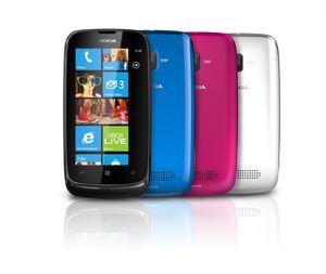 Nokia Lumia 610.