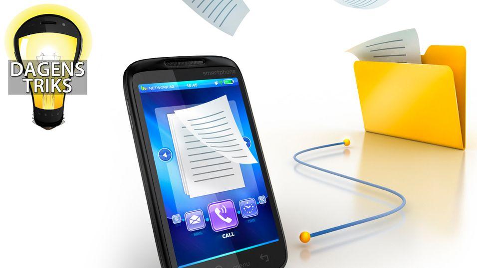 TIPS: Slik sikkerhetskopierer du SMS-ene dine
