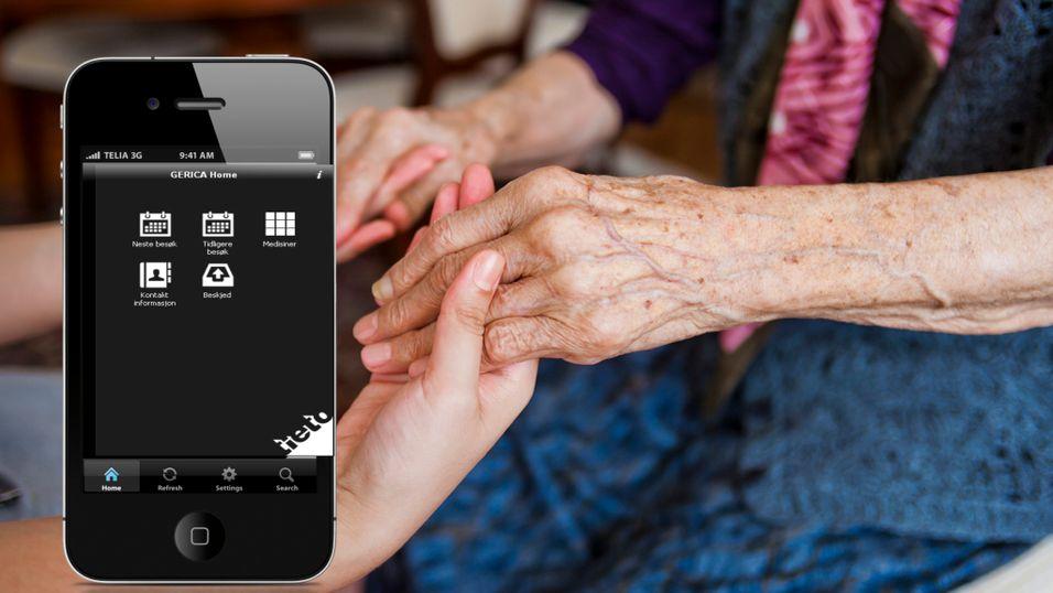 Appen som holder styr på hjemmehjelpen