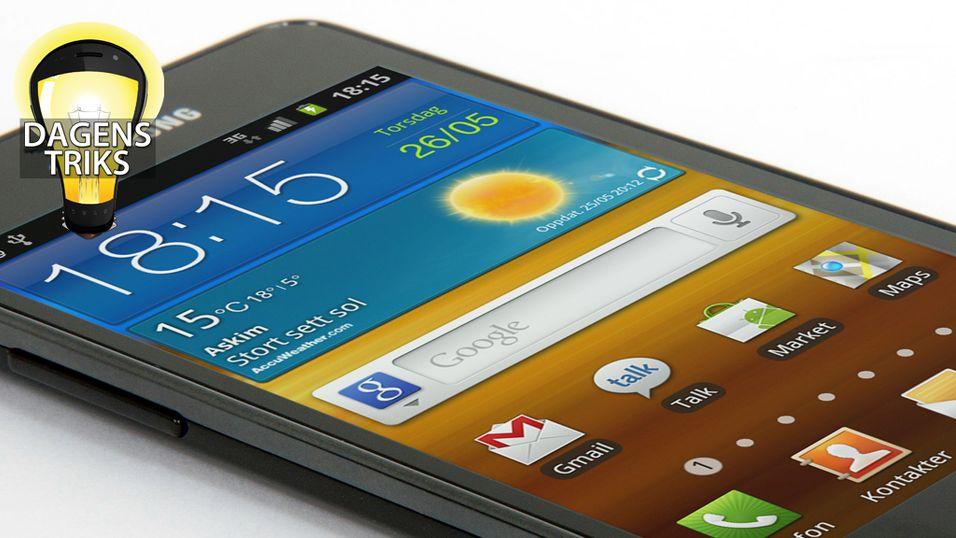 TIPS: Få mer lagringsplass på Android-mobilen