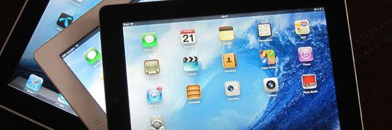 Den nye iPad-en har fått kraftig forbedret skjerm og bedre kamera.