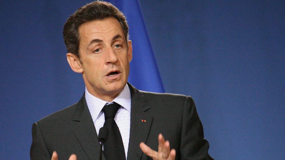 Frankrikes president, Nicolas Sarkozy. Foto: Richard Pichet.