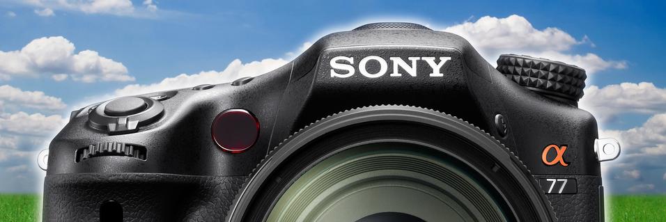 TEST: Sony SLT-A77