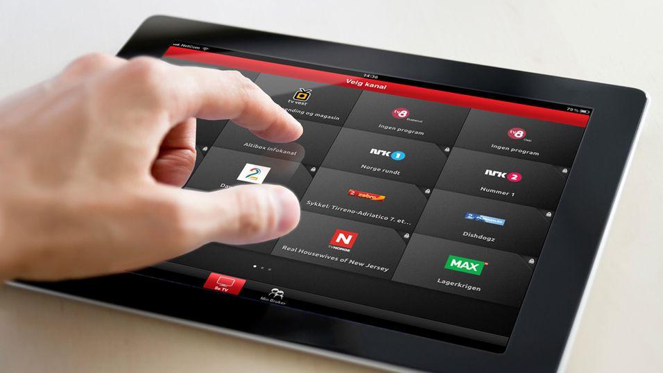 Nå får du TV på iPad