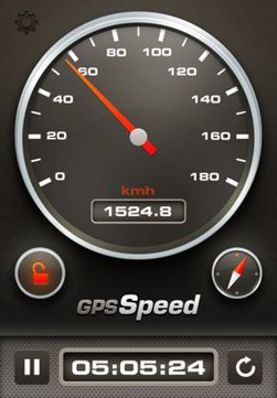 GPS Speed.