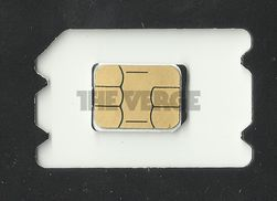 Nettstedet The Verge har fått tak i et bilde av et nano-SIM-kort. Det er ca. en tredjedel mindre enn dagens micro-SIM-kort.