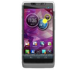 ... konseptbildet av det som skal være en Intel-basert Motorola-modell med Android 4.0.