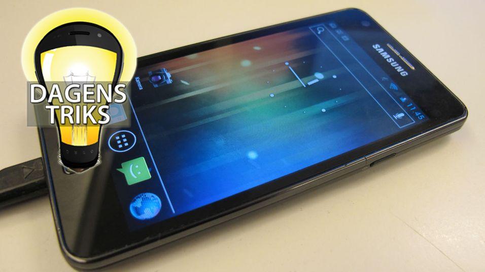 TIPS: Slik blir Galaxy S II raskere igjen