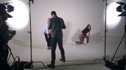 Fotograf Simon Ladefoged brukte HTC One X til å ta bilder av et par innleide dansere.