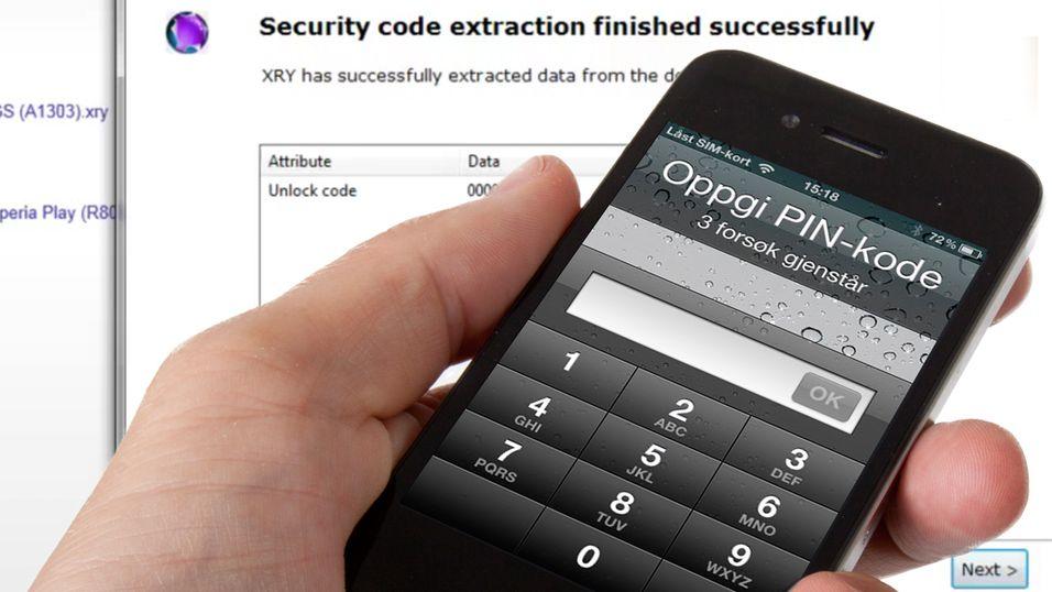 Knekker iPhone-koden på 20 sekunder
