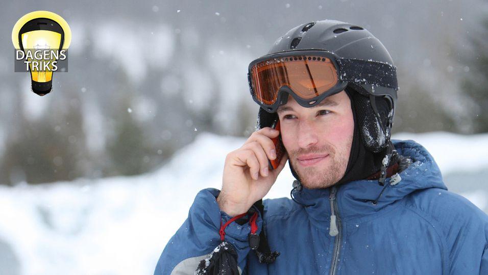 TIPS: Slik overlever mobilen på påskefjellet