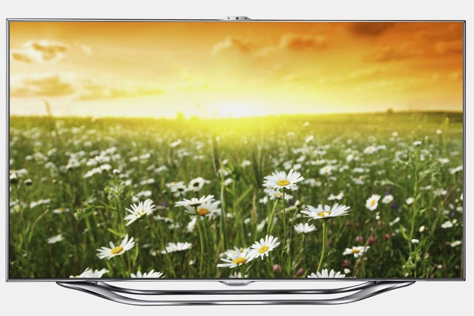 Samsungs nye LED-LCD-toppmodell ES8005.