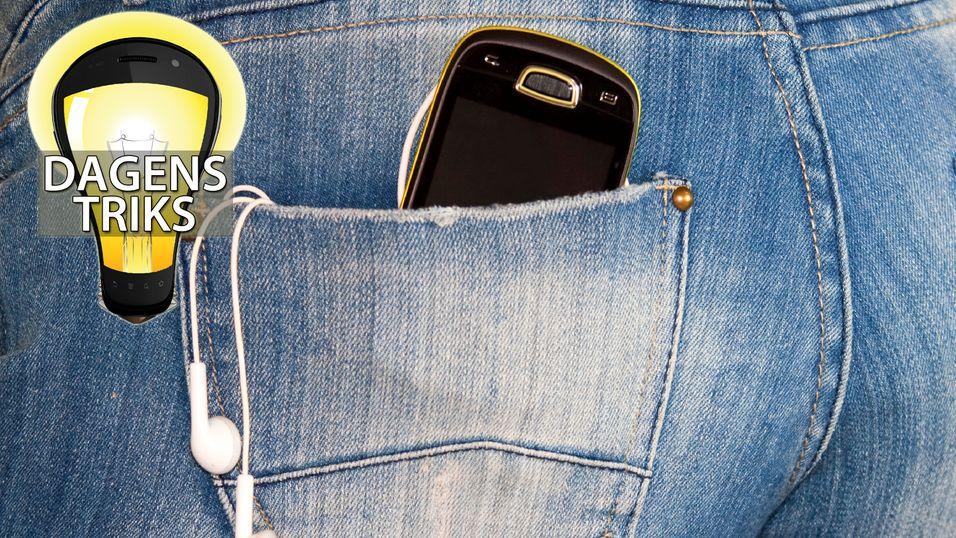 Gjør mobilen din ugagn i lommen?