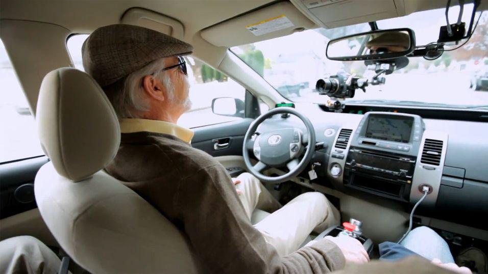 Googles selvkjørende bil gjør suksess