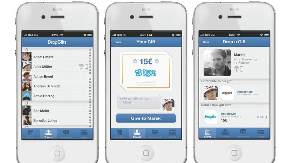 Send presangen rett til mobilen