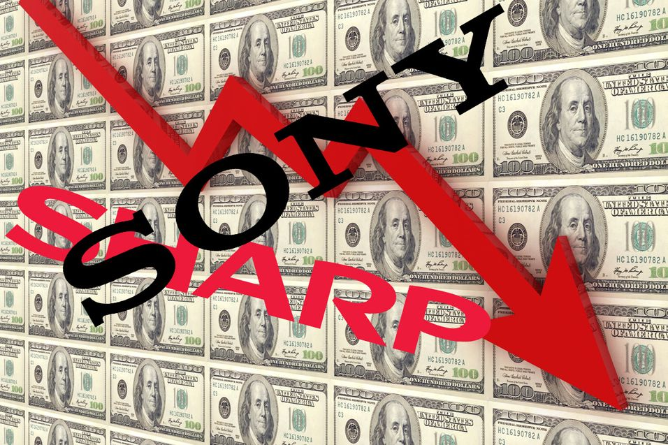 Sony og Sharp sliter sterkt