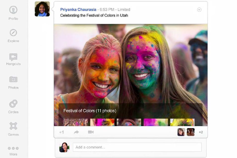 Google+ får nytt utseende
