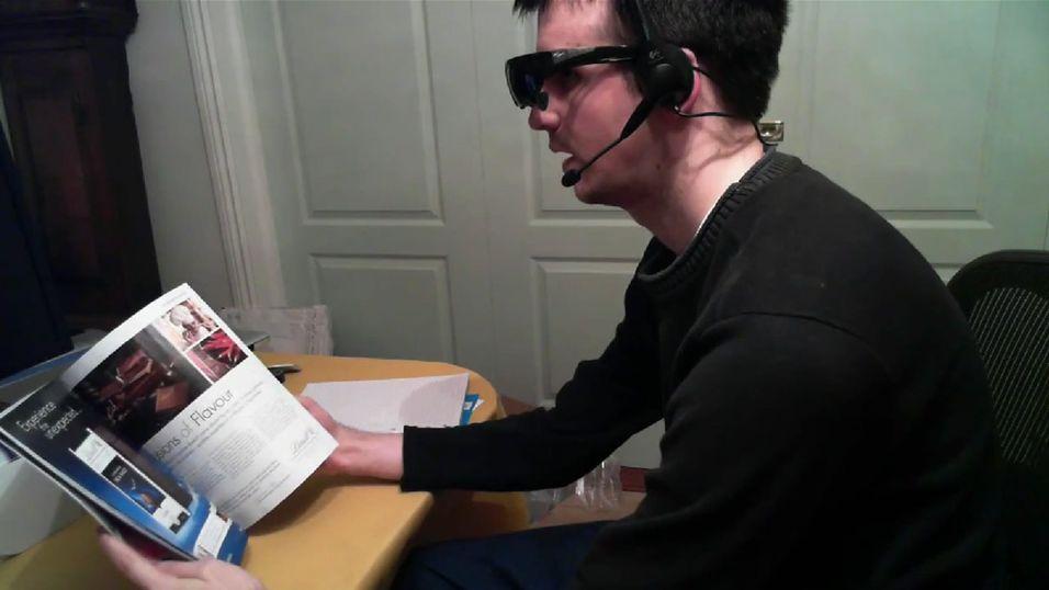 Mann lagde Googles databriller på egen hånd