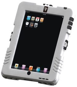 Denne har et såkalt RAM-feste, og dermed kan du feste den i en rekke forskjellige holdere som du får kjøpt. Men den passer bare iPad.