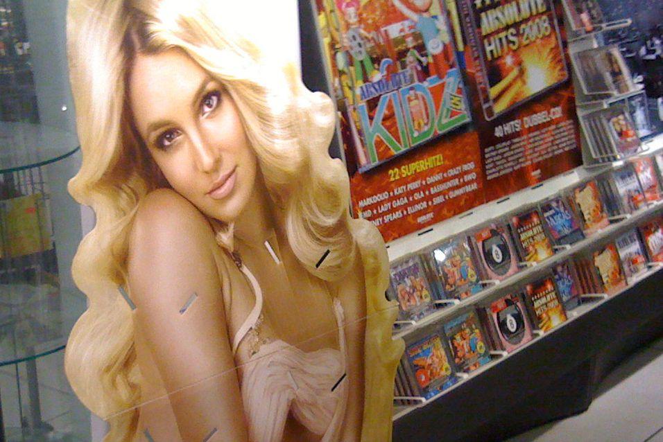 Stakkars Britney. Foto: PancakeMistake
