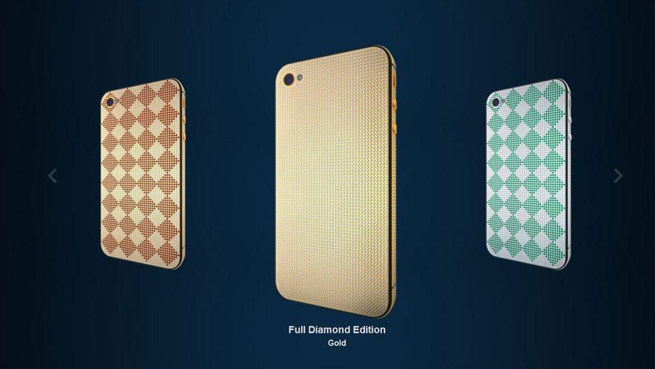 For dobbel pris får du iPhone i gull