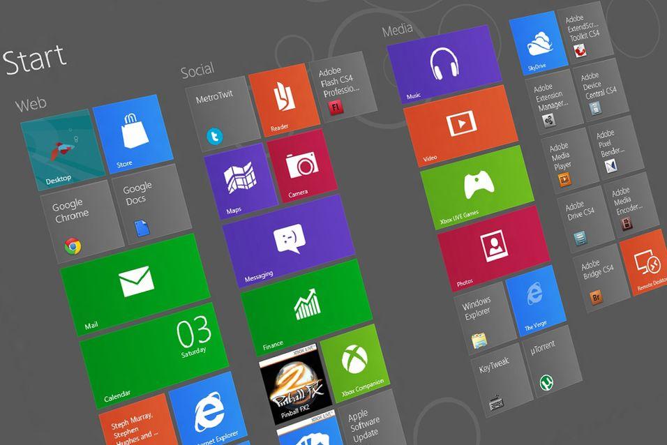 Windows 8 kommer i fire utgaver
