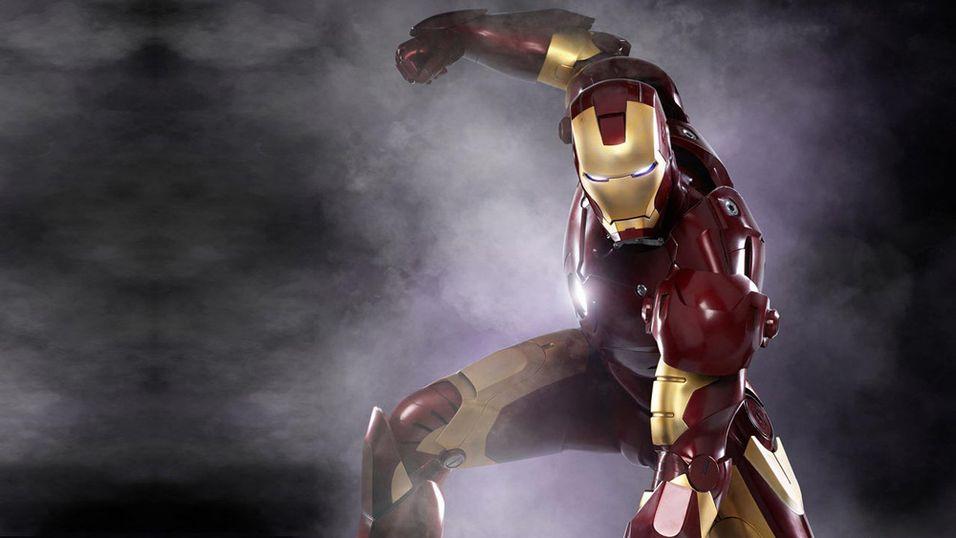 Drakten til Iron Man ble lagd med en 3D-printer.
