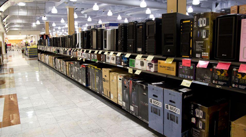 Slike elektrobutikker finner du ikke i Norge