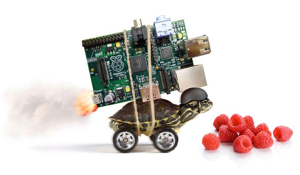 Nå kommer endelig Raspberry Pi
